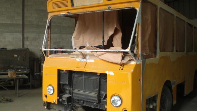 Restauro del Monocar 1201/3 g.m. Fiat 314B Menarini
