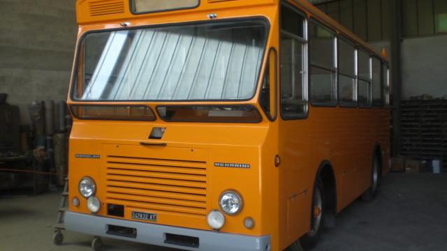 Aggiornamento sul Restauro del Monocar 1201/3 Menarini
